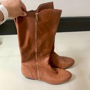 Gianni bini leather tall boots sz 8.5